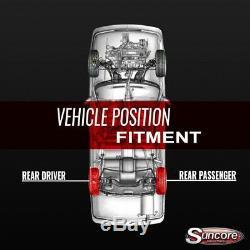 02-06 Cadillac Escalade Rear Active Suspension to Air Shocks with Compressor Kit