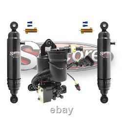 07-14 Cadillac Escalade ESV Rear Autoride Air Shocks Conversion withCompressor Kit