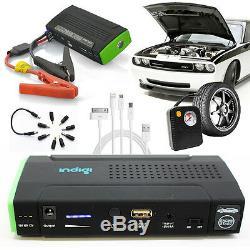12800mAh PowerBank & Car Jump Starter + Air Compressor Emergency Kit (USB port)
