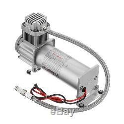 12V 3 Gallon 200 PSI Air Horn Compressor Onboard System Kit Car Truck Boat