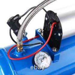 12v Wolf Whistle Trumpet Turkish Air Horn Kit & 6 Liters 150 Psi Compressor UK
