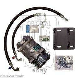1966 THUNDERBIRD A/C COMPRESSOR UPGRADE KIT witho DRIER AC Air Conditioning T-Bird