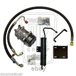 1969-70 MUSTANG V8 A/C COMPRESSOR UPGRADE KIT AC Air Conditioning 134A STAGE 1