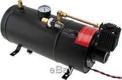 1 Gal Air Tank/150 Psi Compressor Onboard System Kit For Train Horn 12v Vxo8210