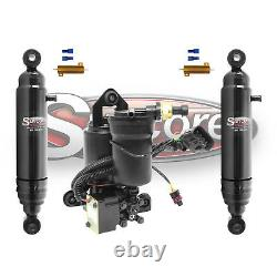 2007-2014 GMC Yukon Rear Autoride Air Shocks Conversion withCompressor Kit