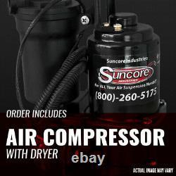 2007-2014 GMC Yukon Rear Autoride Passive Air Shocks and Compressor Kit