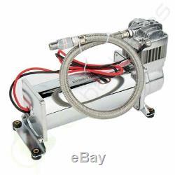 200 Psi Air Compressor 1 /4 Hose Kit For Train Horns Bag Suspension 12V
