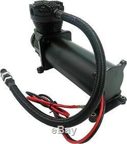 200 Psi Air Compressor 3/8 Hose Kit F/suspension/air Bag/train Horn 12v Vxc480b