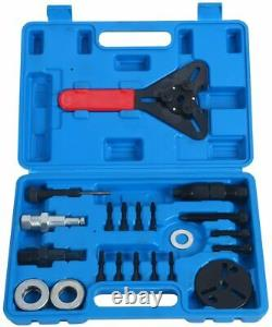 21Pcs A/C Compressor Clutch Hub Remover Kit Air Conditioning Puller Removal Tool