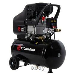 24 Litre Air Compressor & Tool Kit 9.6 CFM, 2.5 HP, 24L