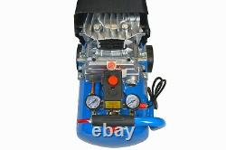 25L Ltr Litre Air Compressor 4 CFM 2.5HP 8 Bar Portable 2800rpm + 5pc Air Kit