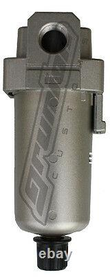 2 PACK 3/8 SMC Water Traps 300 PSI Air Bag Suspension Ride Tank Compressor