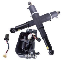 2x Air Suspension shocks+Compressor Pump For Escalade Suburban Tahoe Yukon