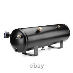 3G Air Tank 4 Trumpets 150PSI Compressor Train Horn Kit Truck Boat Loud System