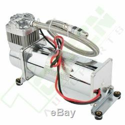 3 GAL Air tank And 200 psi Compressor For Train Horn Car System Kit 12V