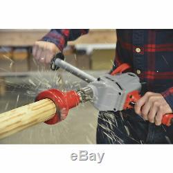 3-Pc. Lumberjack Tools Home Series Log Furniture Tenon Cutter Tool Starter Kit