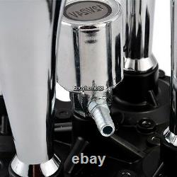 4 Trumpet Air Horn 12V Compressor Kit Blue Tank Gauge for Car Train Truck