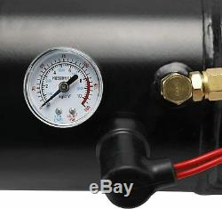 4 Trumpet Train Air Horn Kit with150PSI Air Compressor Complete System 12V For Car