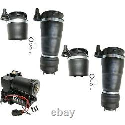 5 Piece Air Suspension Kit Front & Rear Air Springs with Compressor for Ford