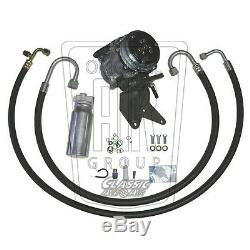 68-72 CUTLASS OLDS V8 A/C COMPRESSOR UPGRADE KIT AC Air Conditioning STAGE 1