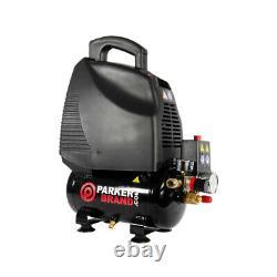 6 Litre Air Compressor & Tool Kit 5.7 CFM, 1.5 HP, 6L, 115PSI