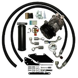 70-74 DUSTER SMALL BLOCK A/C COMPRESSOR UPGRADE KIT Air Conditioning AC STAGE 1
