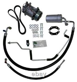 87-93 MUSTANG 5.0 FOX BODY AC COMPRESSOR UPGRADE KIT Air Conditioning STAGE 1