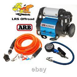 ARB High Flow Air Compressor with Tyre Inflation Kit inc gauge 12v CKMA12
