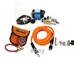 ARB Ultimate Wheeler Pack HD Air Compressor, E-Z Tire Deflator & Pump Up Kit 4x4