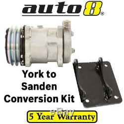 Air Conditioning AC Compressor Conversion Kit Ford Falcon XY XA XB XC XD XE