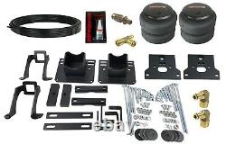 Air Helper Spring Kit In Cab White Gauge For 05-10 Ford F250 2wd Over Load Level