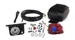 Air Lift Bag Control Kit Guage Switch Compressor 25804
