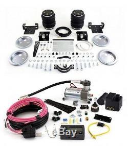 Air Lift Suspension Air Bag & Wireless Air Compressor Kit for Silverado 2500 HD