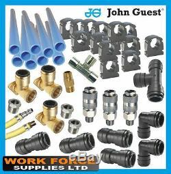 Air Line Fittings-JG-Workshop Air Line-9m Kit-Air Compressor Air