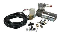 Air Ride Motorcycle Suspension Modification Kit 2 VIAIR 98C with Some Fittings