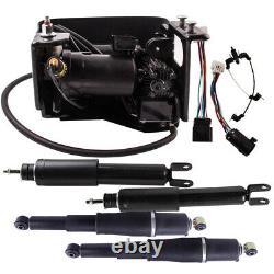 Air Suspension Compressor & 4PCS Shocks Absorber For Cadillac Escalade ESV