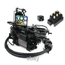 Air Suspension Compressor+Valve Kit Jeep Grand Cherokee Ram 1500 3.0 3.6 5.7L TP