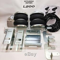 Air Suspension KIT with Compressor for Mitsubishi L200 4wd 1991-2006 4000kg