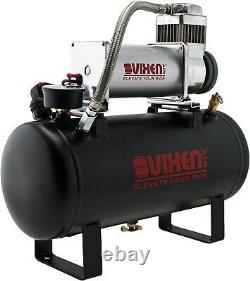 Air Suspension Kit/System for Truck/Car Bag/Ride/Lift, 150psi Compressor, 2G Tank