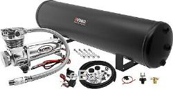 Air Suspension Kit/System for Truck/Car Bag/Ride/Lift, 200psi Compressor, 5G Tank