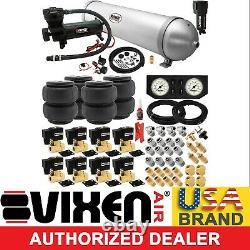 Air Suspension Kit for Truck/Car Bag/Ride, 200psi Compressor, 5G Aluminum Tank