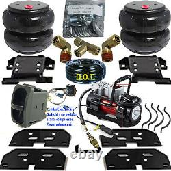 Air Tow Assist Load Level 2003 2013 Dodge Ram 3500 compressor & Switch