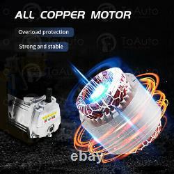 AutoShut 30Mpa Air Compressor High Pressure Pump Kit 110V Electric PCP 1.8KW, US