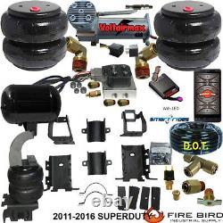 B Air Helper Spring Kit Ford F250 F350 2011-2016 Compressor Bluetooth Control