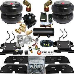 B Wireless Air Helper Spring Kit 2500/3500 RAM 2003-2013 Compressor