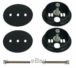 C10 Air Ride Suspension Kit Chevy 1963-72 3/8 Valves Blk 7 Switch Bags Tank 580B