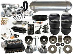 Complete Air Ride Suspension Kit 1965-1970 Cadillac DeVille LEVEL 4 with AccuAir