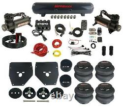 Complete Air Ride Suspension Kit 63-72 C10 3/8 Evolve Manifold Bags Tank 480