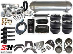 Complete Air Suspension Kit 1988-1998 GM C/K Silverado LEVEL 4 withAir Lift 3H
