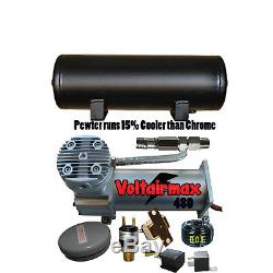 DC480 Air Compressor 3 Gallon Tank Water Drain 120 on 150 off Switch, Relay